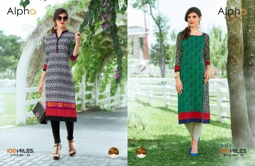 100 MILES ALPHA SERIES 01-12 STYLISH PARTY WEAR KURTI AT WHOLESALE BEST RATE BY GOSIYA EXPORTS (3)