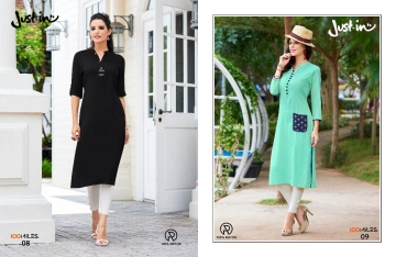 100 MILES JUST IN VOL 2 RAYON DESIGNER KURTI WHOLESALER BEST RATE BY GOSIYA EXPORTS SURAT (2)