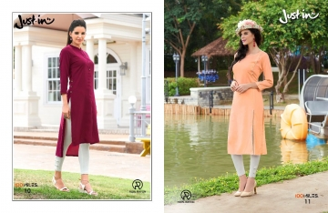 100 MILES JUST IN VOL 2 RAYON DESIGNER KURTI WHOLESALER BEST RATE BY GOSIYA EXPORTS SURAT (3)