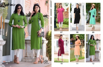 100 MILES JUST IN VOL 2 RAYON DESIGNER KURTI WHOLESALER BEST RATE BY GOSIYA EXPORTS SURAT (4)