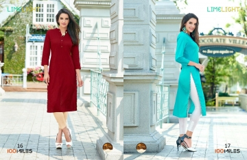 100 MILES LIMELIGHT VOL 3 COTTON KURTI WHOLESALE BEST RATE BY GOSIYA EXPORTS SURAT (2)