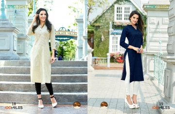 100 MILES LIMELIGHT VOL 3 COTTON KURTI WHOLESALE BEST RATE BY GOSIYA EXPORTS SURAT (3)