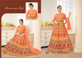 A.M. FASHION FLORENCE BRIDAL-6 REAL GEORGETTE CATALOG WHOLESALE SUPPLIER DELEAR BEST RATE BY GOSIYA EXPORTS SURAT (1)