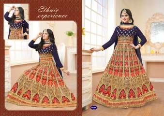 A.M. FASHION FLORENCE BRIDAL-6 REAL GEORGETTE CATALOG WHOLESALE SUPPLIER DELEAR BEST RATE BY GOSIYA EXPORTS SURAT (2)