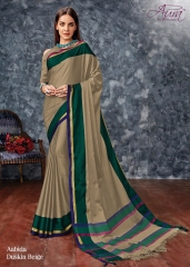 AABIDA SAREES BY AURA DESIGNER COTTON SILK SAREES ARE AVAILABLE AT WHOLESALE BEST RATE BY GOSIYA EXPORTS SURAT (1)