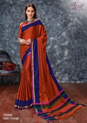 AABIDA SAREES BY AURA DESIGNER COTTON SILK SAREES ARE AVAILABLE AT WHOLESALE BEST RATE BY GOSIYA EXPORTS SURAT (2)