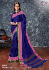 AABIDA SAREES BY AURA DESIGNER COTTON SILK SAREES ARE AVAILABLE AT WHOLESALE BEST RATE BY GOSIYA EXPORTS SURAT (3)