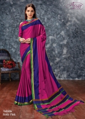 AABIDA SAREES BY AURA DESIGNER COTTON SILK SAREES ARE AVAILABLE AT WHOLESALE BEST RATE BY GOSIYA EXPORTS SURAT (4)
