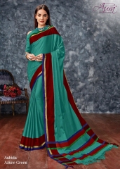 AABIDA SAREES BY AURA DESIGNER COTTON SILK SAREES ARE AVAILABLE AT WHOLESALE BEST RATE BY GOSIYA EXPORTS SURAT (5)