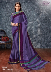 AABIDA SAREES BY AURA DESIGNER COTTON SILK SAREES ARE AVAILABLE AT WHOLESALE BEST RATE BY GOSIYA EXPORTS SURAT (9)