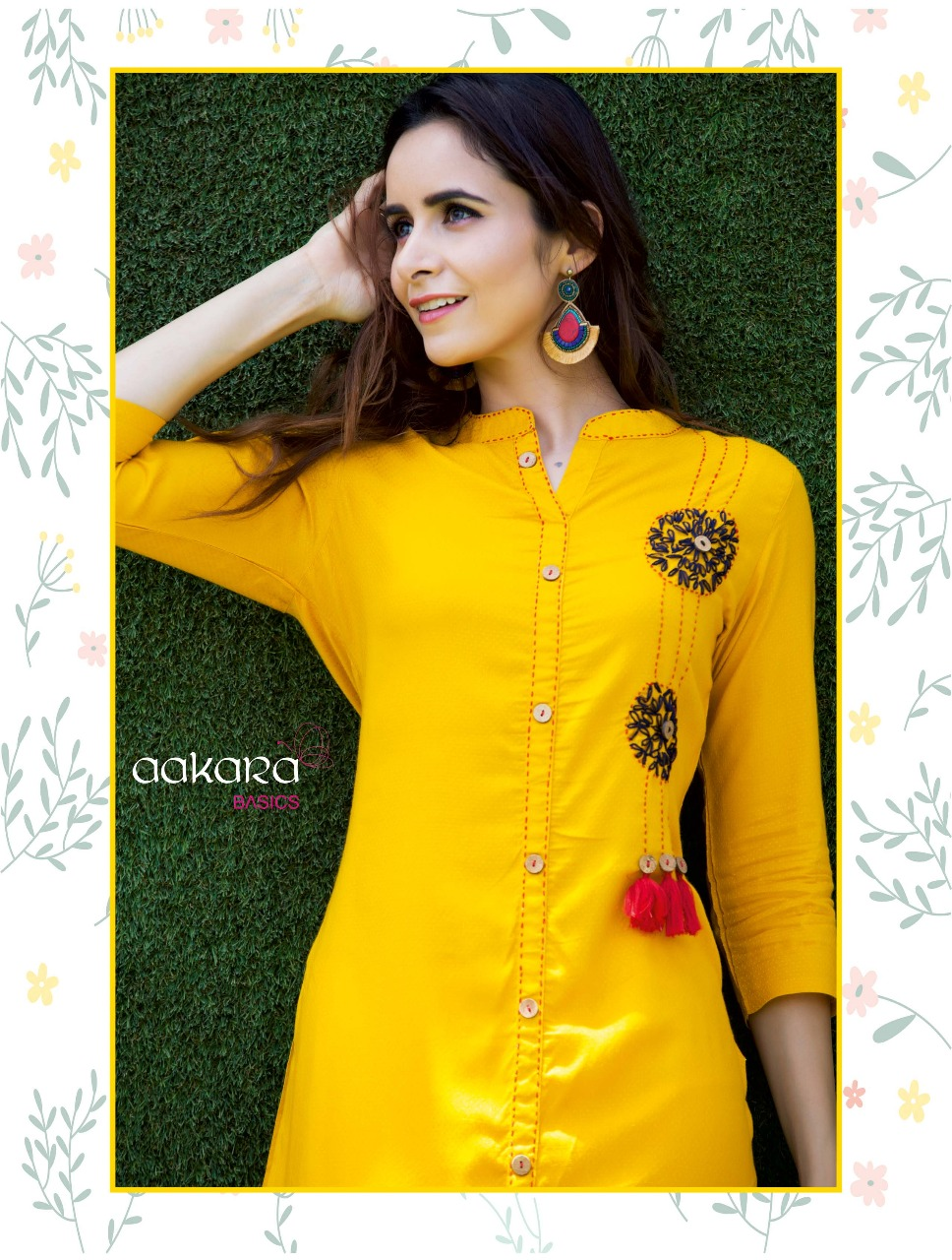 117246ae45 AAKARA - 1001 – 1008 RAYON KURTI PARTY WEAR WITH EMBROEDERY WORK WHOLESALE  RATE AT GOSIYA