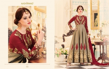 AASHIRWAD CREATION ALMIRAH CATALOG DESIGNER PARTY WEAR SALWAR KAMEEZ WHOLESALE BEST RATE BY GOSIYA EXPORTS SURAT (5)