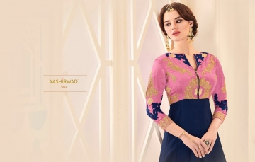 AASHIRWAD CREATION ALMIRAH CATALOG DESIGNER PARTY WEAR SALWAR KAMEEZ WHOLESALE BEST RATE BY GOSIYA EXPORTS SURAT (9)