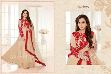 AASHIRWAD CREATION ALMIRAH VOL 2 WHOLESALE RATE SURAT AT GOSIYA EXPORTS (4)