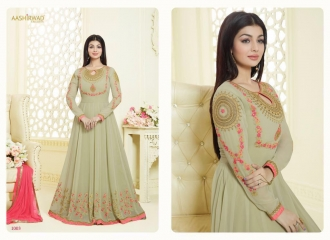 AASHIRWAD CREATION SAPPHIRE CATALOG GEORGETTE EMBROIDERED SUPER BENEFITS RATES WHOLESALER (1)