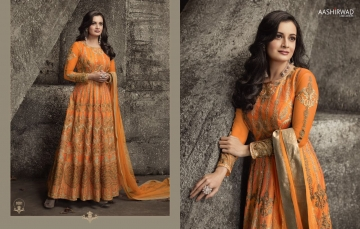 AASHIRWAD CREATION TAJ MULBERRY SILK SUITS CATALOGUE WHOLESALE BEST ARTE BY GOSIYA EXPORTS SURAT ONLINE (1)