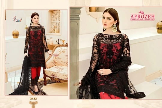 AFROZEH SHREE FABS PAKISTANI GEORGETTE  (2)