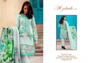 AL ZOHAIB VOL3 PAKISTANI SUITS WHOLESALE BEST RATE WHOLESALE BEST RATE BY GOSIYA EXPORTS (15)