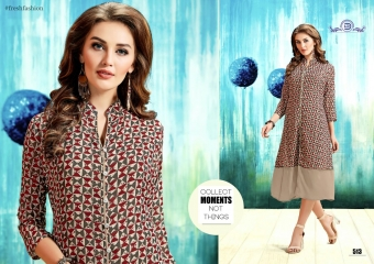 ALISHA DIVA DESIGNS CASUAL WEAR FOUX GEORGETTE PRINT KURTI COLLECTION WHOLESALE BEST RATE BYGOSIYA EXPORTS SURAT (10)