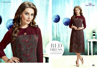 ALISHA DIVA DESIGNS CASUAL WEAR FOUX GEORGETTE PRINT KURTI COLLECTION WHOLESALE BEST RATE BYGOSIYA EXPORTS SURAT (12)