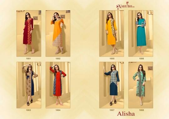 ALISHA VOL 1 SHUBH NX  (9)