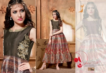 ALIZA SILK PRINTED KURTIS BY PEEHU AVAILABLE HERE IN WHOLESALE BEST RATE (4)