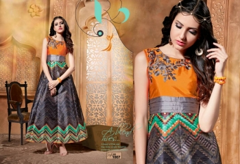 ALIZA SILK PRINTED KURTIS BY PEEHU AVAILABLE HERE IN WHOLESALE BEST RATE (5)