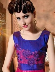 ALIZA SILK PRINTED KURTIS BY PEEHU AVAILABLE HERE IN WHOLESALE BEST RATE
