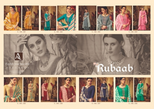 ALOK SUITS PRESENTS RUBAAB PASHMINA FABRIC DRESS MATERIAL AT WHOLESALE DEALER BEST RATE BY GOSIYA EXPORTS SURAT (12)