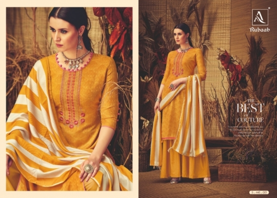 ALOK SUITS PRESENTS RUBAAB PASHMINA FABRIC DRESS MATERIAL AT WHOLESALE DEALER BEST RATE BY GOSIYA EXPORTS SURAT (3)