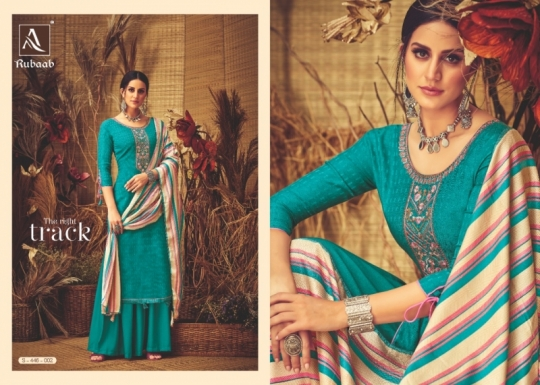 ALOK SUITS PRESENTS RUBAAB PASHMINA FABRIC DRESS MATERIAL AT WHOLESALE DEALER BEST RATE BY GOSIYA EXPORTS SURAT (4)