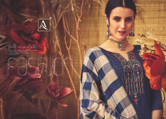 ALOK SUITS PRESENTS RUBAAB PASHMINA FABRIC DRESS MATERIAL AT WHOLESALE DEALER BEST RATE BY GOSIYA EXPORTS SURAT (7)