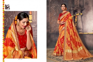ALOUKIK SAREE AA601-AA613 EXCLUSIVE SILK SAREE CATALOG FROM SURAT SUPPLIER WHOLESALE BEST RATE BY GOSIYA EXPORTS SURAT (14)