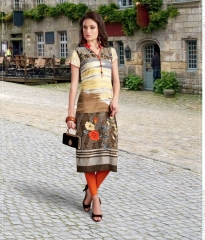 AMAAYA GARMENTS GRACE VOL 5 DIGITAL PRINTS RAYON KURTIS AT BEST RATE BY GOSIYA EXPORTS SURAT
