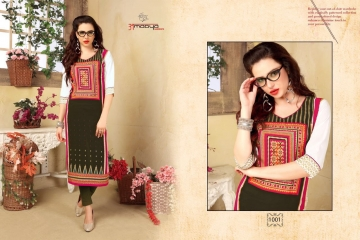 AMAYA GARMENT BLOSSOM GEORGETTE KURTI DEALER BEST RATE BY GOSIYA EXPORTS SURAT (1)