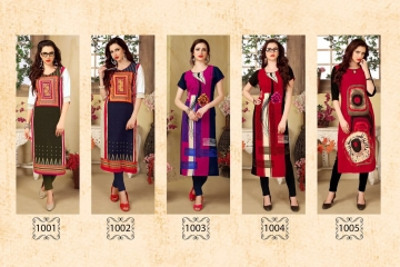 AMAYA GARMENT BLOSSOM GEORGETTE KURTI DEALER BEST RATE BY GOSIYA EXPORTS SURAT (11)