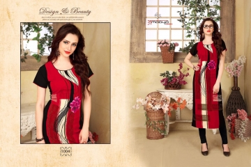 AMAYA GARMENT BLOSSOM GEORGETTE KURTI DEALER BEST RATE BY GOSIYA EXPORTS SURAT (4)