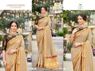 AMRAPALI SAREES BY TRIVENI DESIGNER ART SILK SAREES ARE AVAILABLE AT WHOLESALE BEST RATE BY GOSIYA EXPORTS (6)