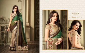 ANMOL CREATION 501-514 SERIES DESIGNER PARTY WEAR EMBROIDERED (10)
