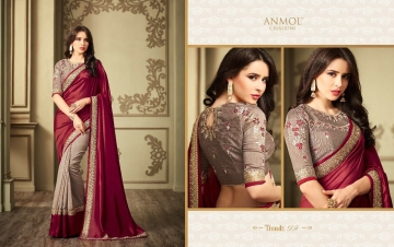ANMOL CREATION 501-514 SERIES DESIGNER PARTY WEAR EMBROIDERED (12)