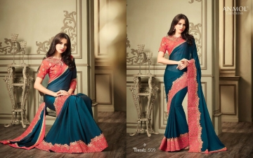 ANMOL CREATION 501-514 SERIES DESIGNER PARTY WEAR EMBROIDERED (14)