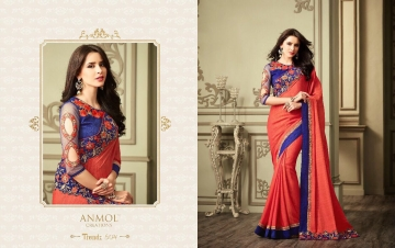 ANMOL CREATION 501-514 SERIES DESIGNER PARTY WEAR EMBROIDERED (2)