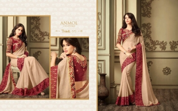 ANMOL CREATION 501-514 SERIES DESIGNER PARTY WEAR EMBROIDERED (6)