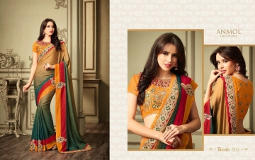 ANMOL CREATION 501-514 SERIES DESIGNER PARTY WEAR EMBROIDERED (8)