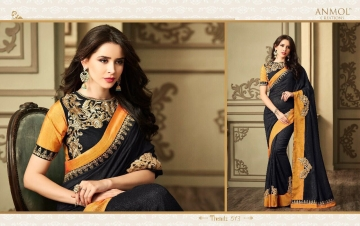 ANMOL CREATION 501-514 SERIES DESIGNER PARTY WEAR EMBROIDERED (9)