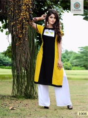 ARADHANA FASHION LEMON REYON DIGITAL PRINT KURTI WHOLESALER BEST RATE BY GOSIYA EXPORTS (8)
