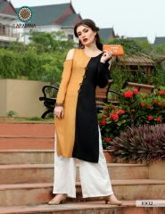 ARADHNA FASHION PARROT VOL 2 HEAVY RAYON PARTY WEAR DESIGNER KURTI COLLECTION (1)