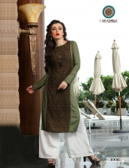 ARADHNA FASHION PARROT VOL 2 HEAVY RAYON PARTY WEAR DESIGNER KURTI COLLECTION (6)