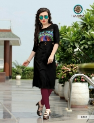 ARADHNA FASHION PARROT VOL 2 HEAVY RAYON PARTY WEAR DESIGNER KURTI COLLECTION (9)