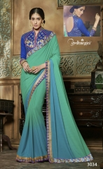 Ardhangini 3021 series party wear saree catalog WHOLESALE BEST RATE (15)